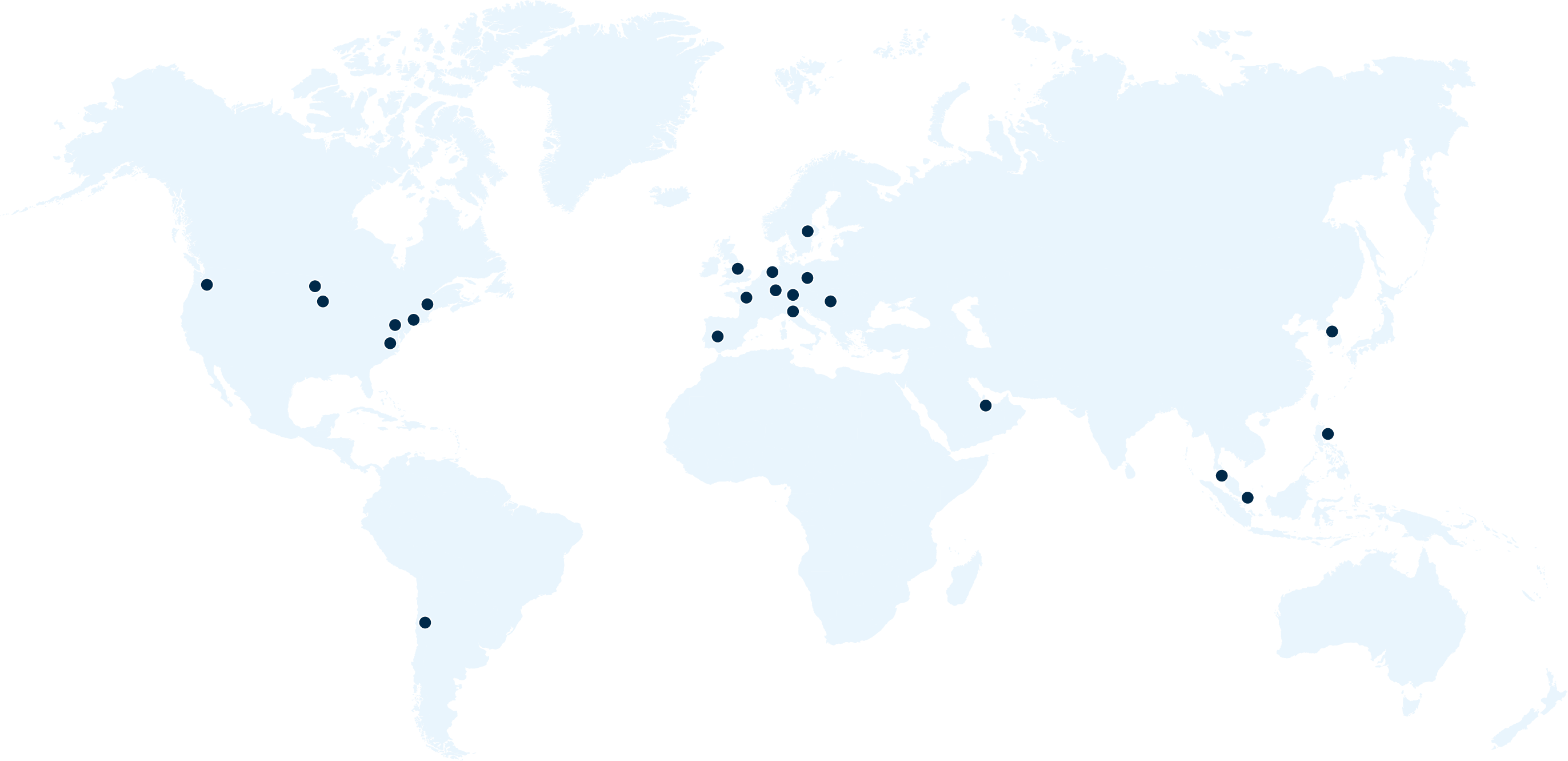 CTI offices map