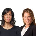 Maya Bhandari and Felicity Long